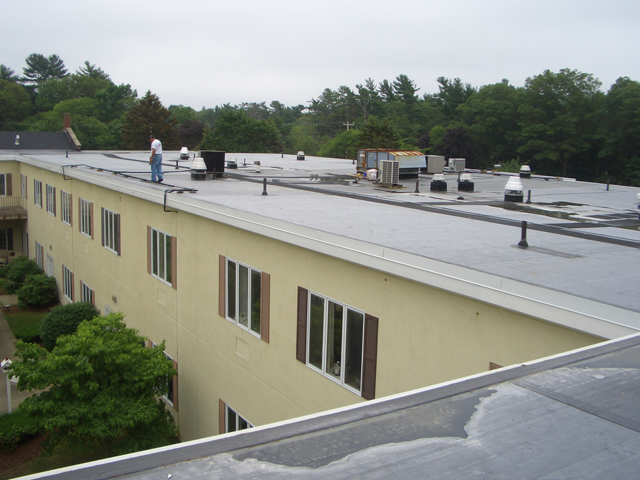 Associate Roofing Commercial Roof